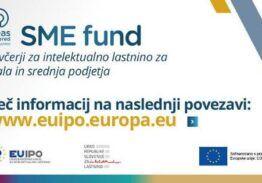 Nepovratna sredstva za pomoč MSP za intelektualno lastnino –  20 milijonov EUR